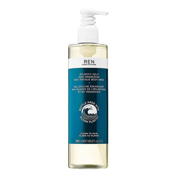 Ren clean skincare atlantic kelp and magnesium anti fatigue body wash   100  recycled plastic