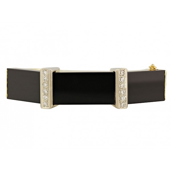 Onyx diamond bracelet