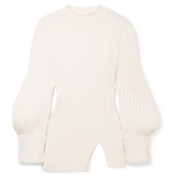 Jacquemus pablo ribbed sweater