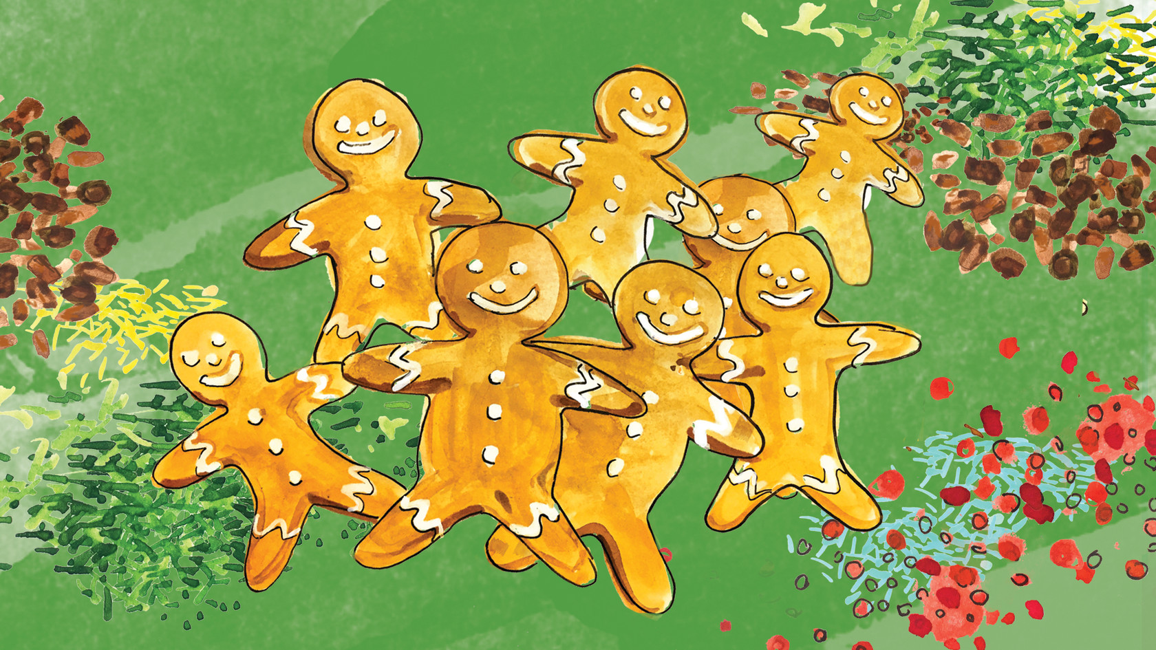 Ginger cookie 1200x675