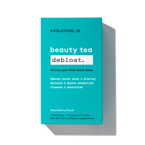 Beauty debloat tea