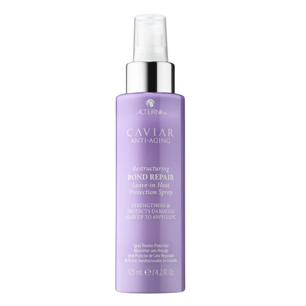 Alterna haircare caviar anti aging restructuring bond repair leave in heat protection spray