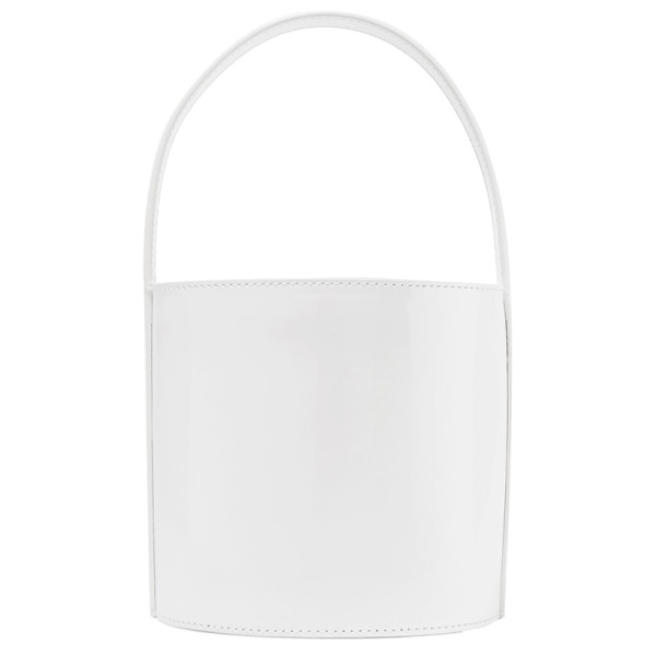 Staud bissett patent leather bucket bag