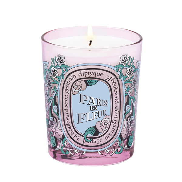 Diptique paris en fleur candle limited edition