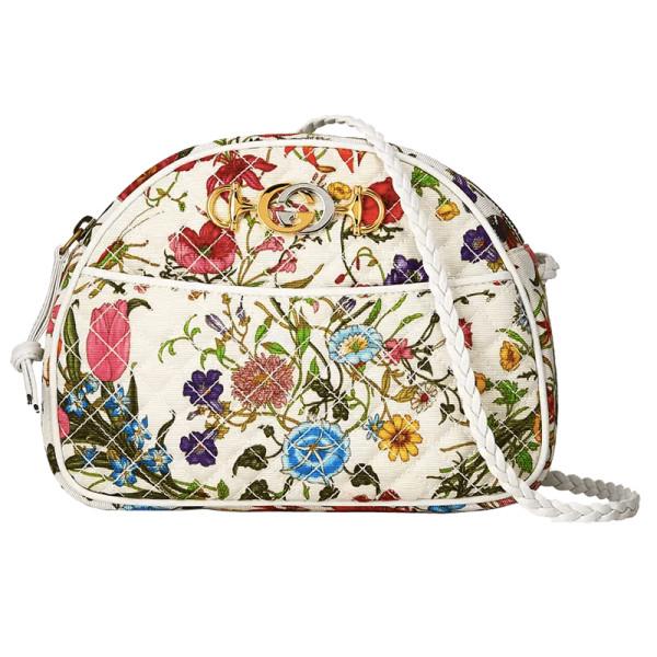 0292238af61 Gucci - Trapuntata Small Quilted Floral Shoulder Bag