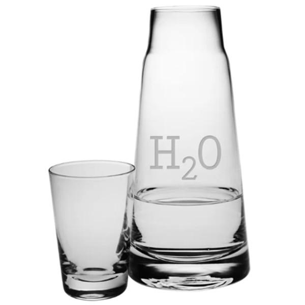 Fortuna h2o 2 piece carafe set