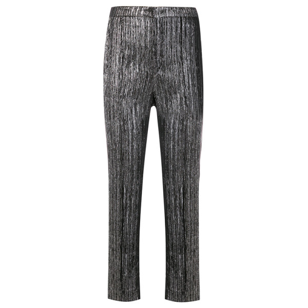 Isabel marant metallic textured trousers