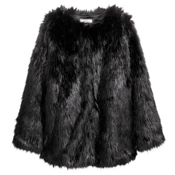 H m faux fur jacket