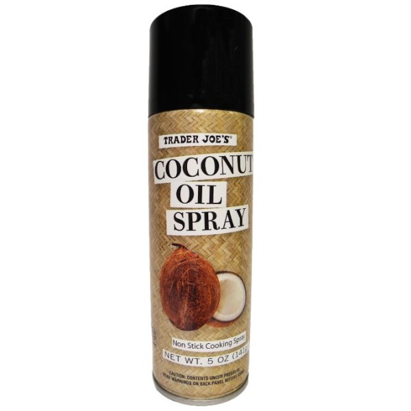 Coconut oil cooking spray