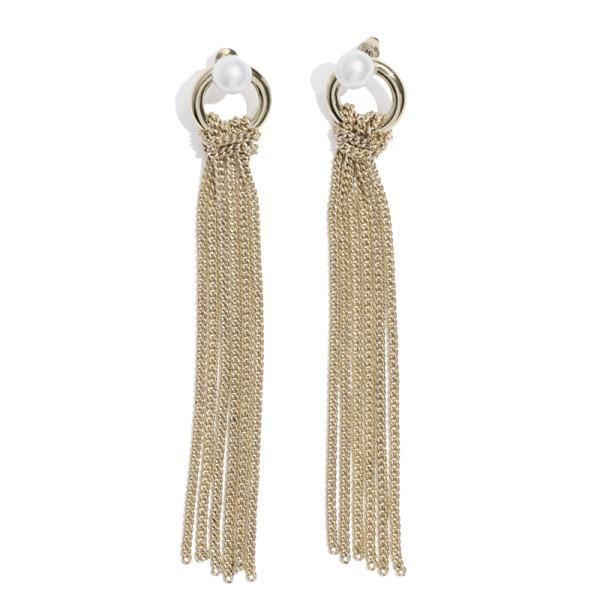 other stories chain tassel earrings