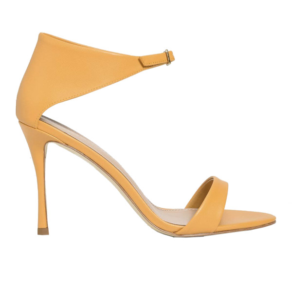 Charles   keith front buckle heels