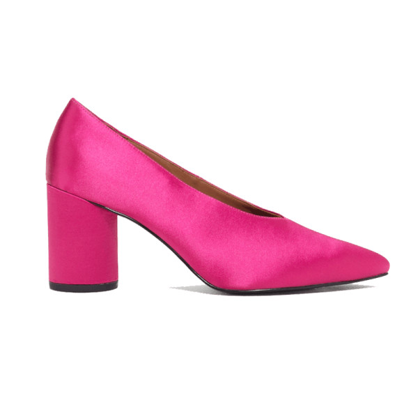 other stories satin pumps