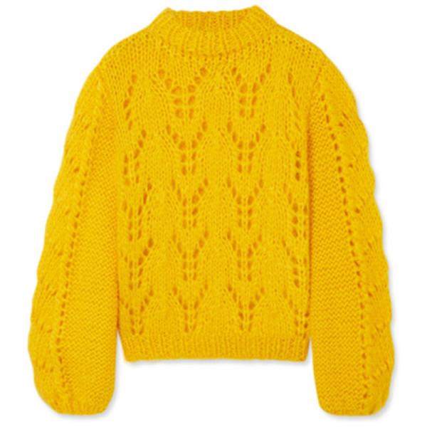 Ganni julliard knitted jumper