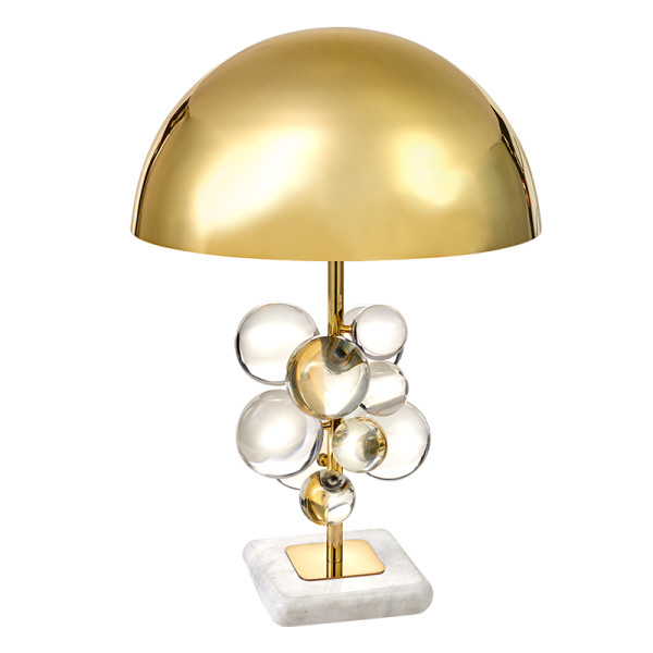 Jonathan adler  clear globo table lamp