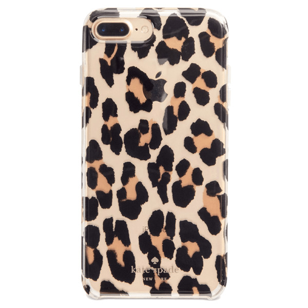 Kate spade new york leopard clear iphone 6  7  8 case