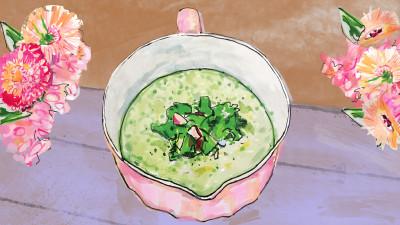 Cucumber gazpacho 1200x675