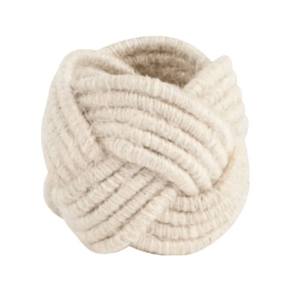 Beachcrest home jute woven napkin rings