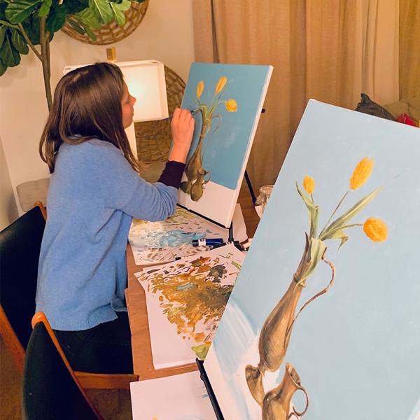 Lauren cohan paint