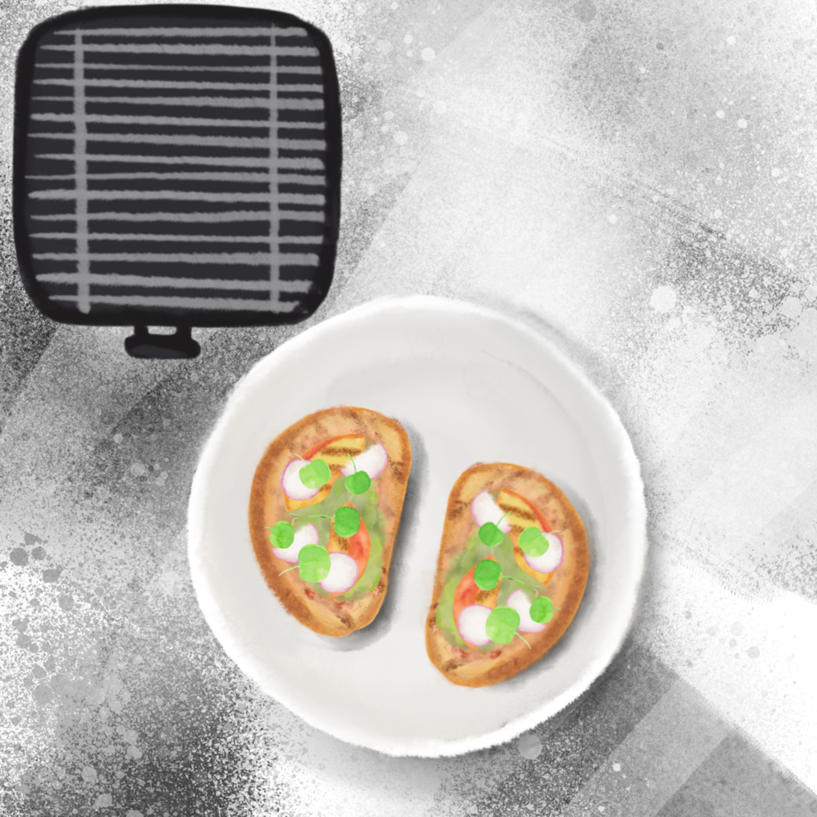 S  r grilled peaches toast 1200x1200
