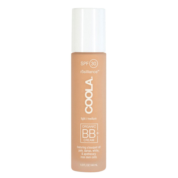 Coola organic sunscreen mineral face spf 30 rosilliance light medium