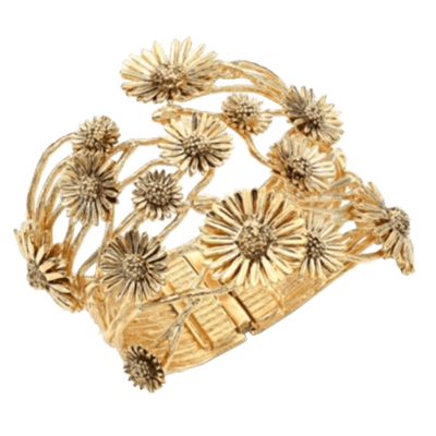 Aure  lie bidermann athina floral cuff bracelet copy