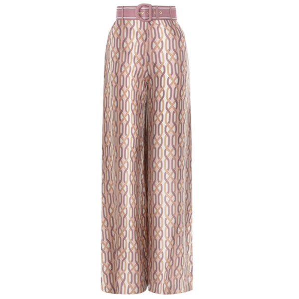 Zimmermann super eight printed trouser