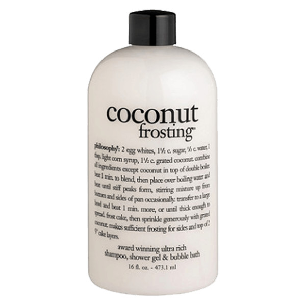 Philosophy coconut frosting shampoo  shower gel   bubble bath
