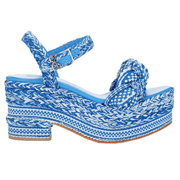 Antolina augustina cotton platform sandals