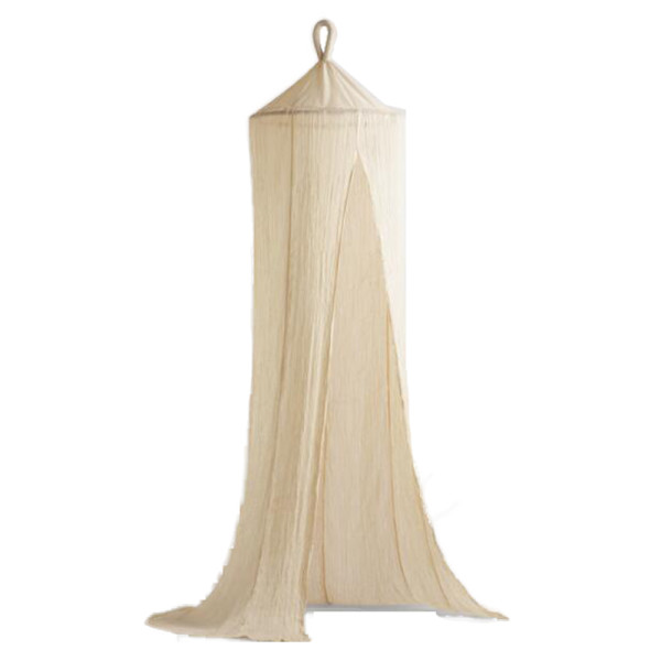 World market indian cotton gauze sheer canopy