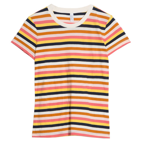 other stories striped ringer tee