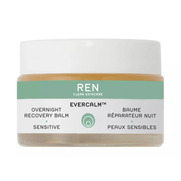 Ren clean skincare evercalm    overnight recovery balm