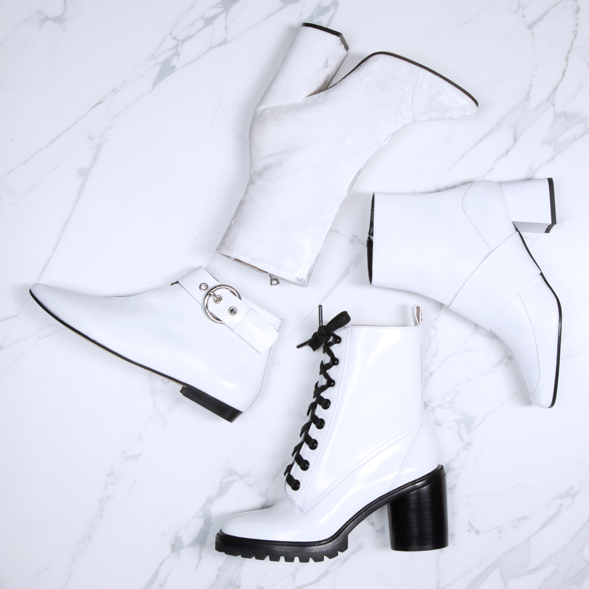 Story rain white boots11547