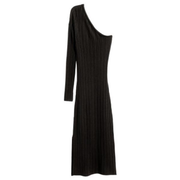 H m one shoulder dress