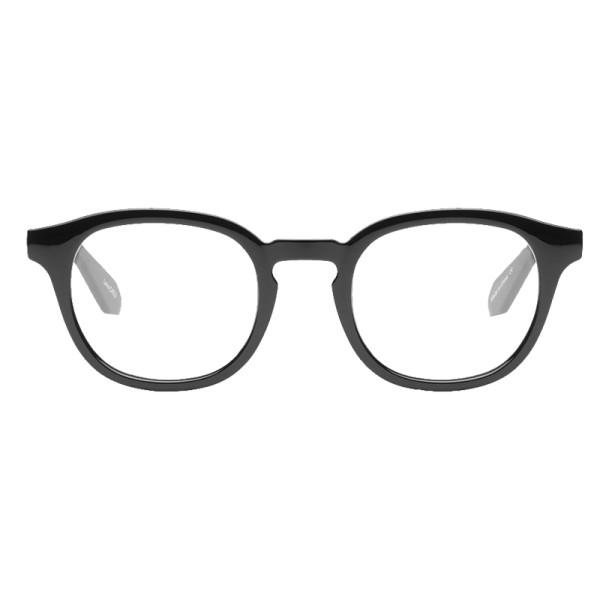 Quay walk on blue light lens glasses