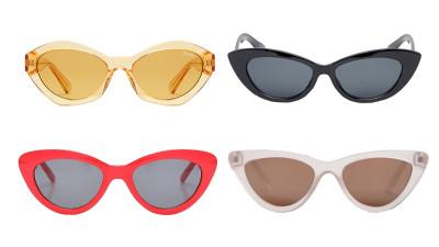 Horizontal sunglasses