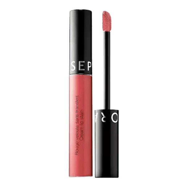 Sephora collection cream lip stain liquid lipstick in first date