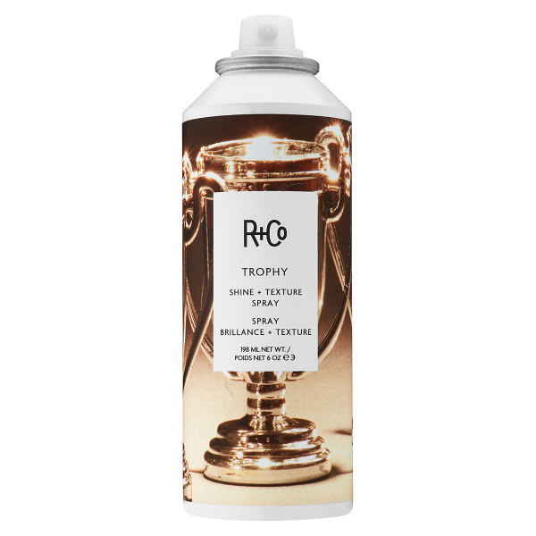 R co trophy shine texture spray