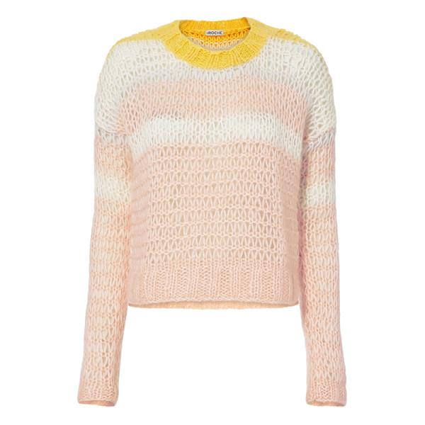 St. roche katie open weave sweater