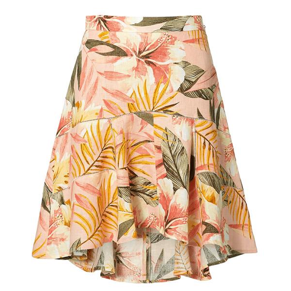 Joie radhiya floral skirt