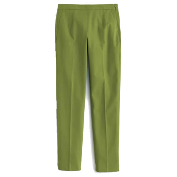 J. crew martie slim crop pant two way stretch cotton
