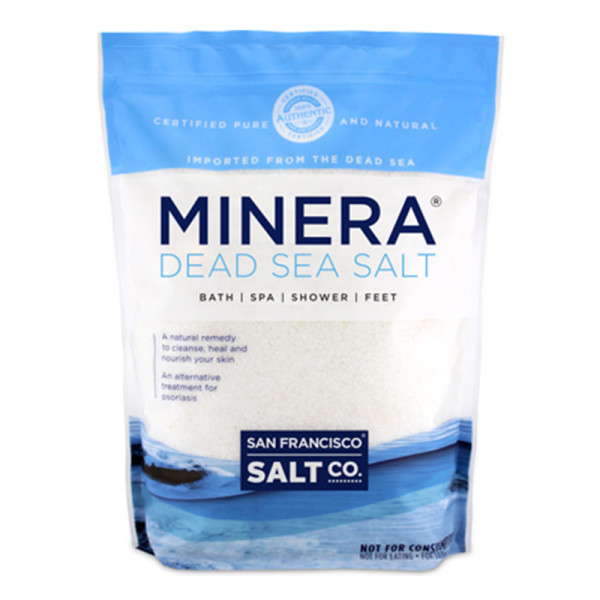 San francisco salt company minera natural dead sea salt