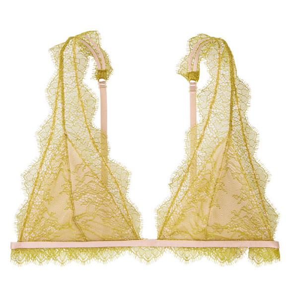 Victoria s secret chantilly lace long line bralette