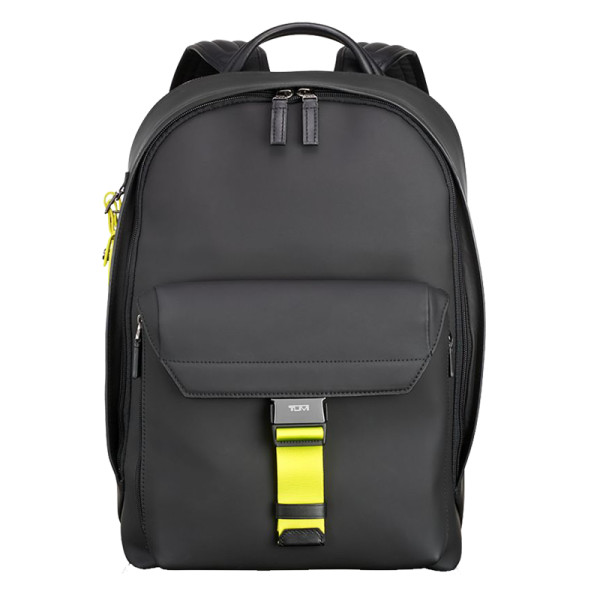 Tumi ashton morrison leather backpack