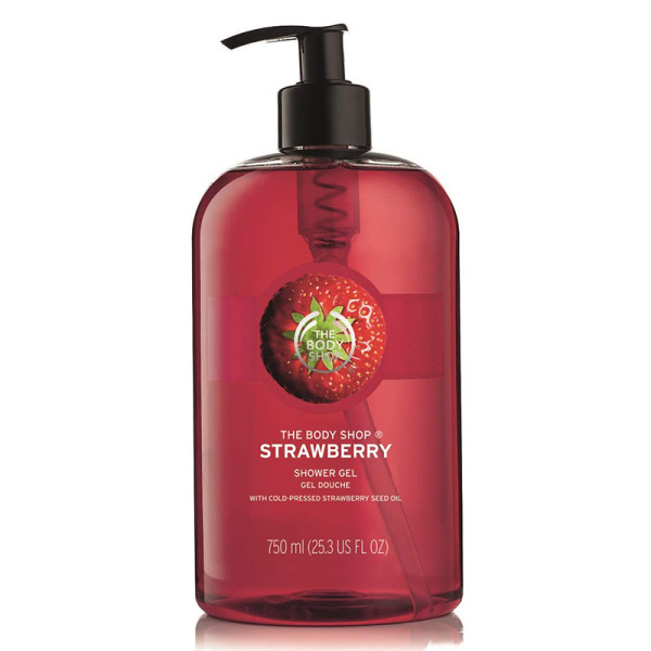 The body shop jumbo strawberry shower gel