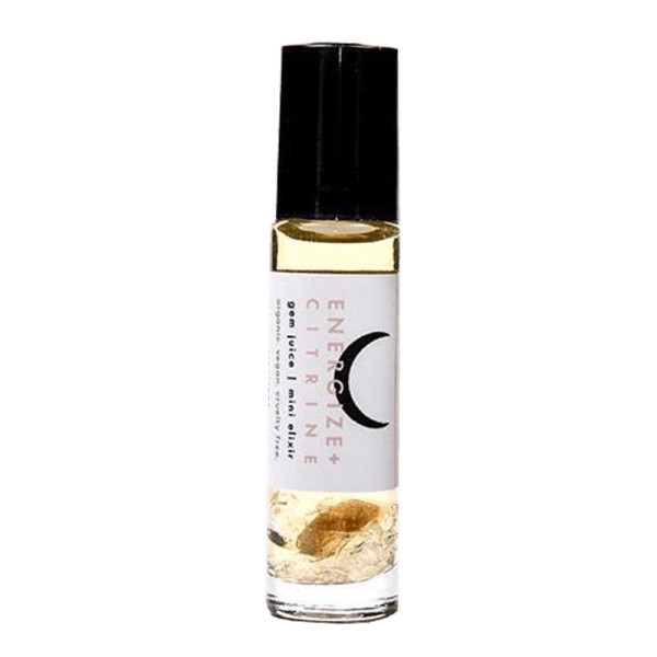 Love by luna energize   citrine gem juice rollerball