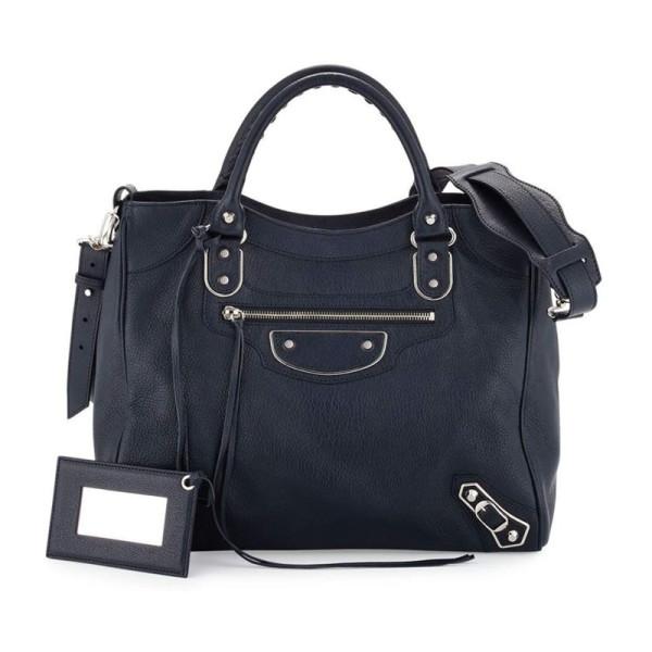 Balenciaga metallic edge classic velo aj bag