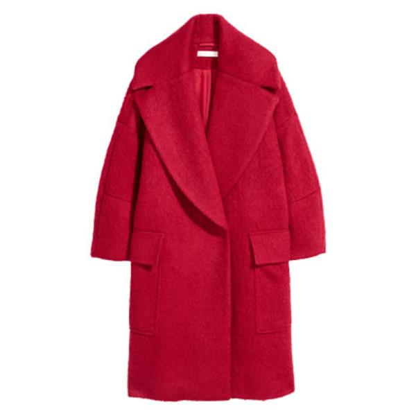 H m oversized coat
