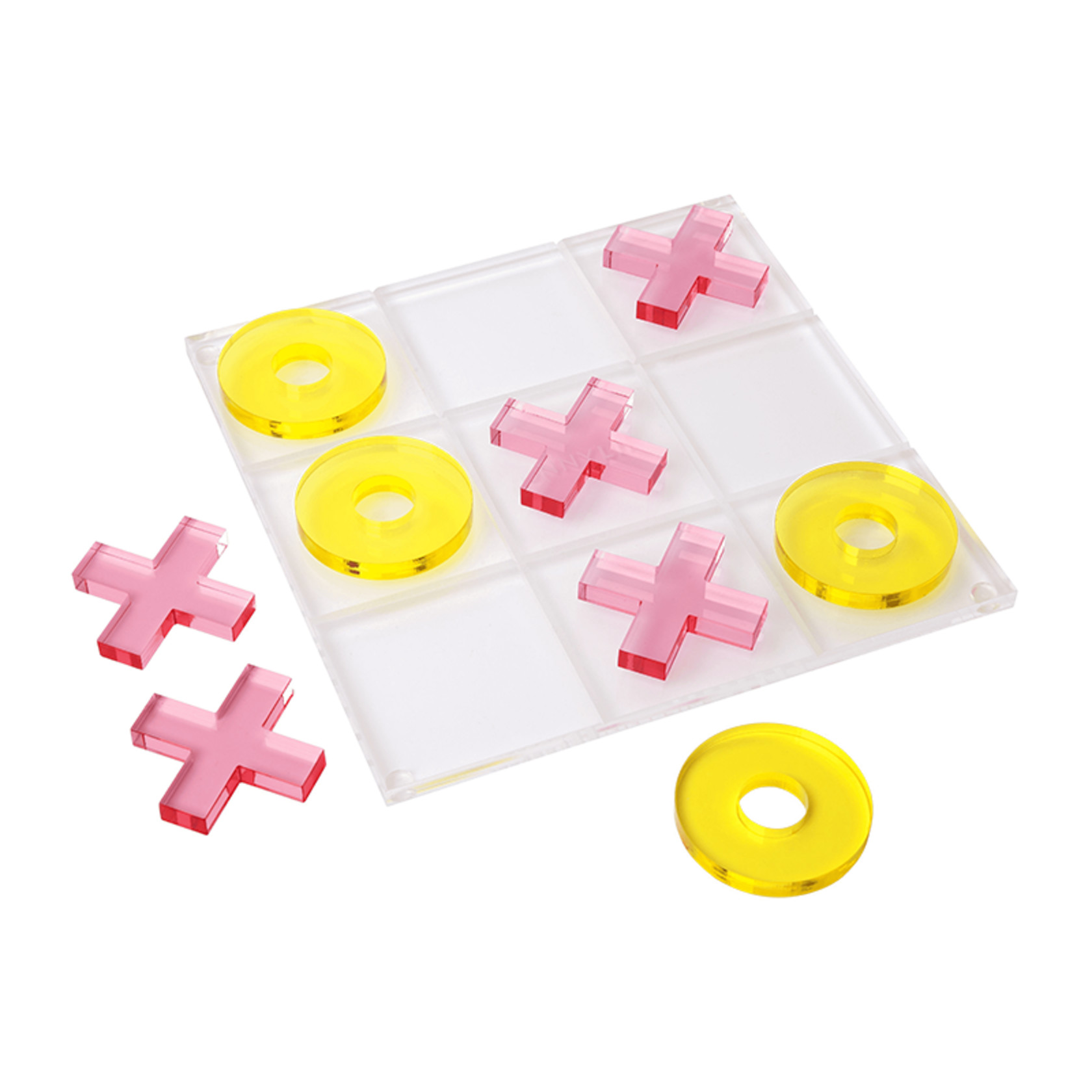 Sunnylife lucite tic tac toe game