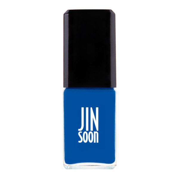 Jinsoon nail polish in cool blue