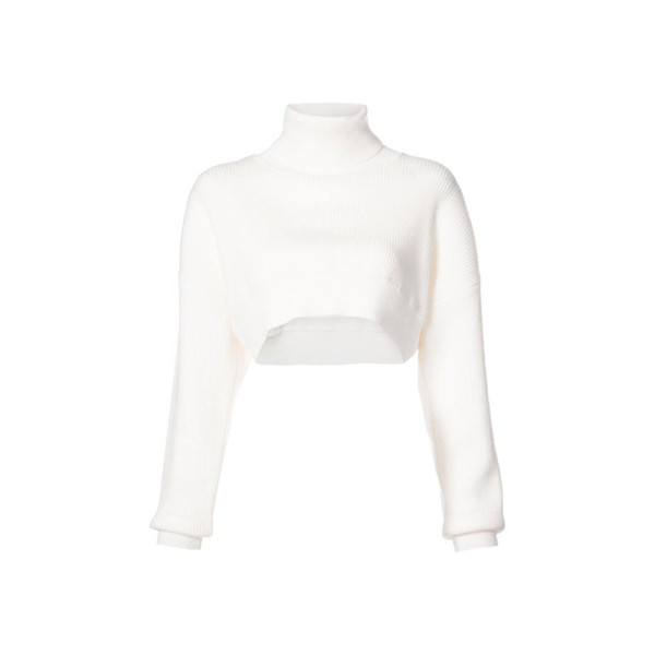 Alexandre vauthier   cropped knitted sweater